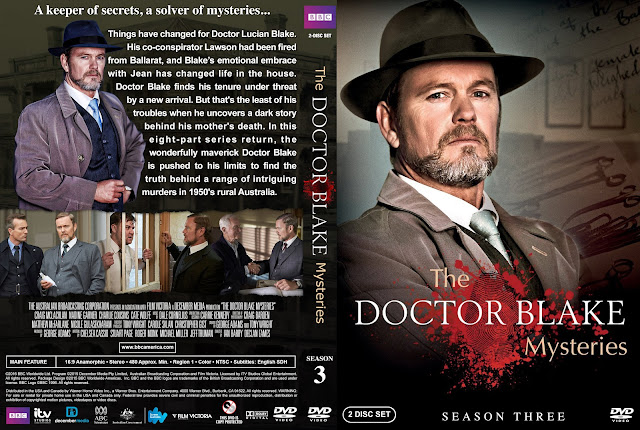 The Doctor Blake Mysteries - Season 3 DVD Cover