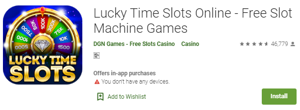Game Lucky Time Slots Online - Permainan Slot Online Paling Populer