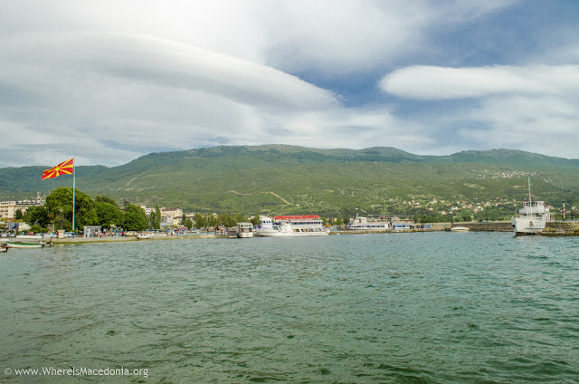 Ohrid Lake, Macedonia