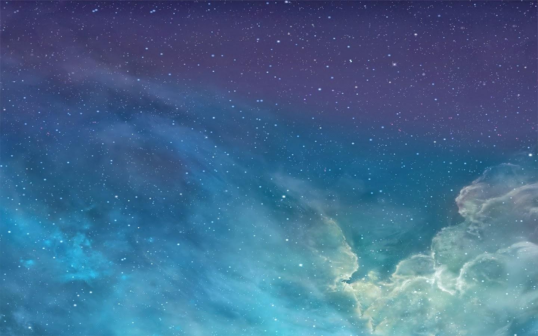 Ios 7 Iphone Wallpaper: IOS 7 Galaxy Wallpaper