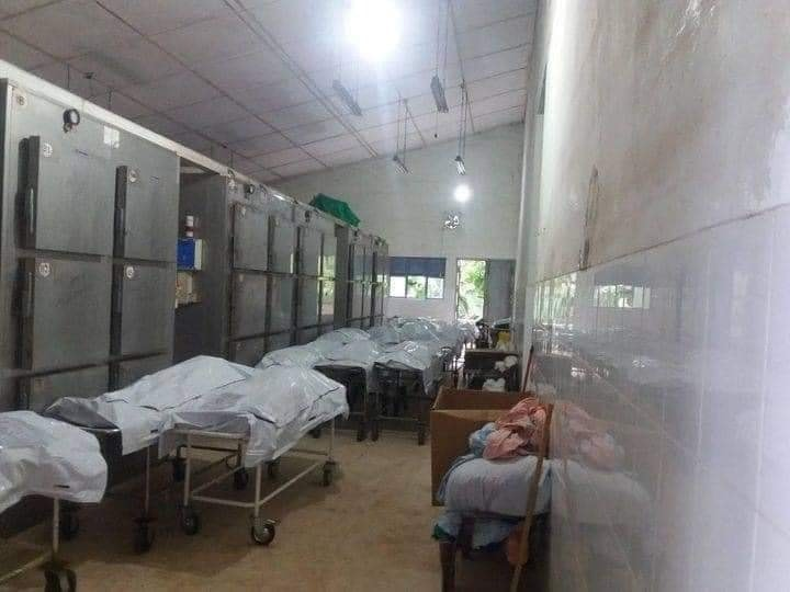 The situation of the hospitals is very bad