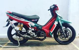GAMBAR MODIFIKASI MOTOR YAMAHA F1Z-R TERPOPULER