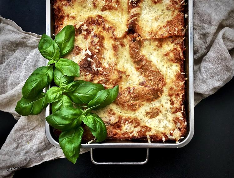 lasagne soijarouheesta