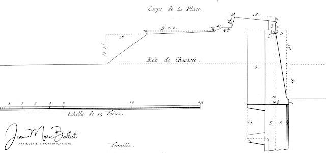 Cormontaigne (L. de) — Architecture militaire ou l'art de fortifier […], 1741
