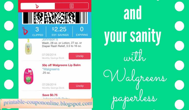 Walgreens coupon policy 2018 printable