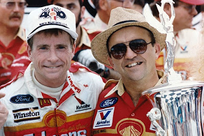 Roush went onto launch his first NASCAR Cup team with driver Mark Martin (NASCAR Hall of Famer) in 1988.