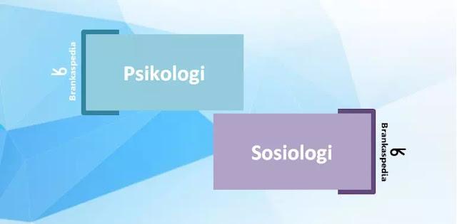 Perbedaan Psikologi dan Sosiologi