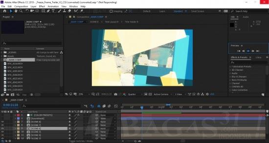 Screenshot Adobe After Effects CC 2019 v16.1.3.5 Full Version