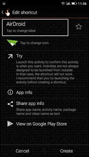 Cara Ubah Nama & Ikon Aplikasi di Android [Tanpa Root] - Quick Shortcut Maker 4