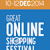 10 Tips to Conquer 'The Great Online Shopping Festival' ( GOSF 2014 )