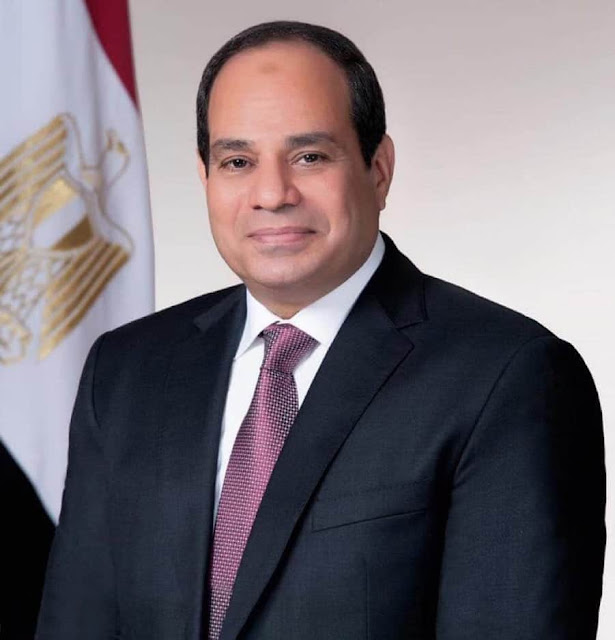 السيسي يهنئ الشعب المصري والامه العربية الاسلامية بعيد الاضحي المبارك