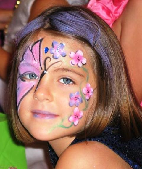 Girl Face Paint Ideas