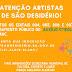 Prefeitura de São Desidério inicia cadastramento de artistas e trabalhadores da cultura para o auxílio emergencial cultural