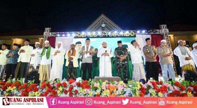 Masyarakat Tumpah, Berikut Nuansa Situbondo Bersholawat Bersama Sholawat Bhenning