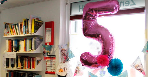 "Cumple 5 Frozen ""Let it go"" 