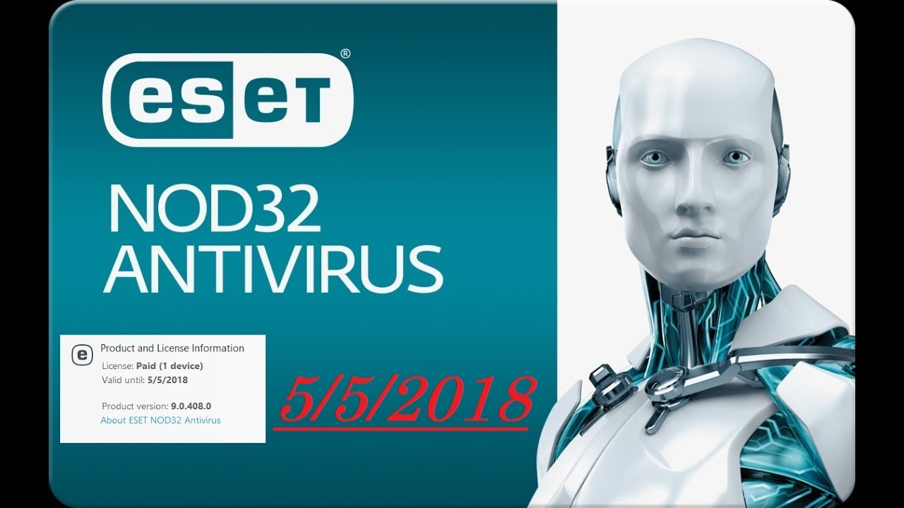 eset nod32 antivirus license key 2019 profile