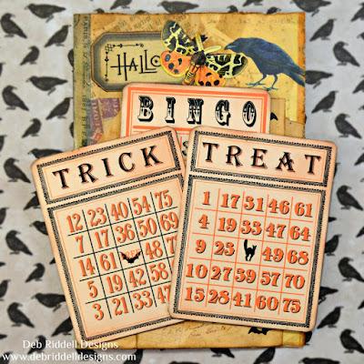 Halloween Folio Trick Or Treat Bingo Cards