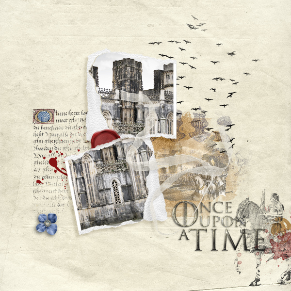 once upon a time © sylvia • sro 2019 • a song of kings and queens & whimsical frames V 02 by oawa