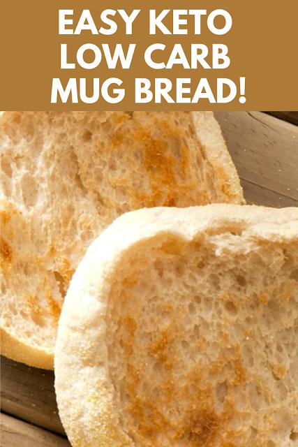EASY KETO LOW CARB Mug Bread!