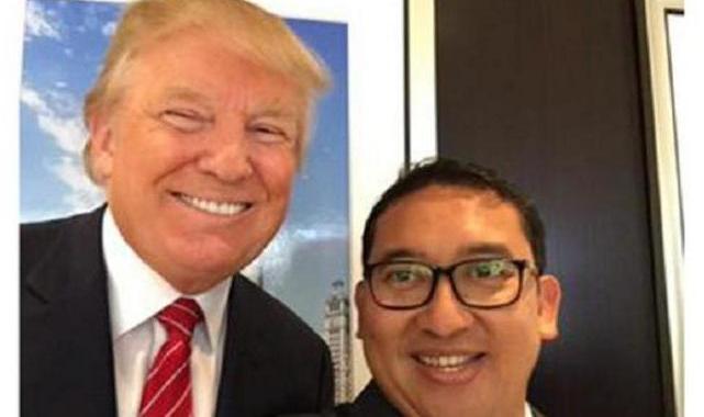 Donald Trump Menang, Fadli Zon Ucapkan Selamat dan Unggah Foto Bersama Waktu Dulu