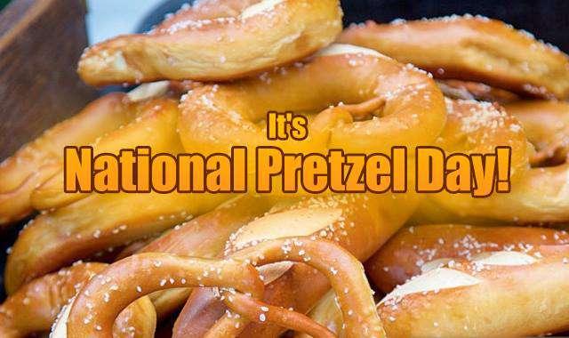 National Pretzel Day Wishes Unique Image