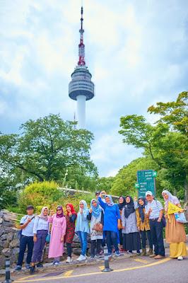 Namsan Tower Ikon Kota Seoul