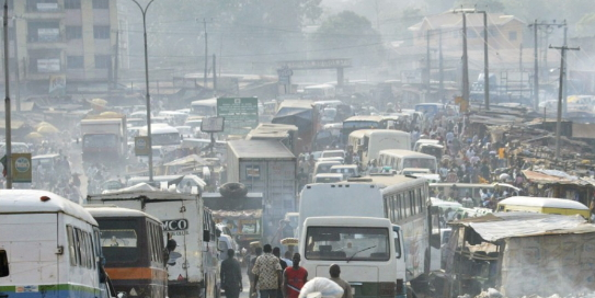 black carbon emission air pollution in port harcourt