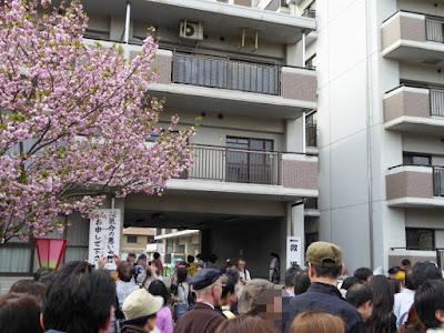 大阪造幣局 桜の通り抜け 救護所