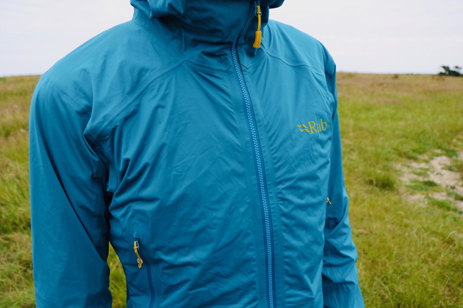Review Rab Kinetic Alpine Waterproof Shell Jacket