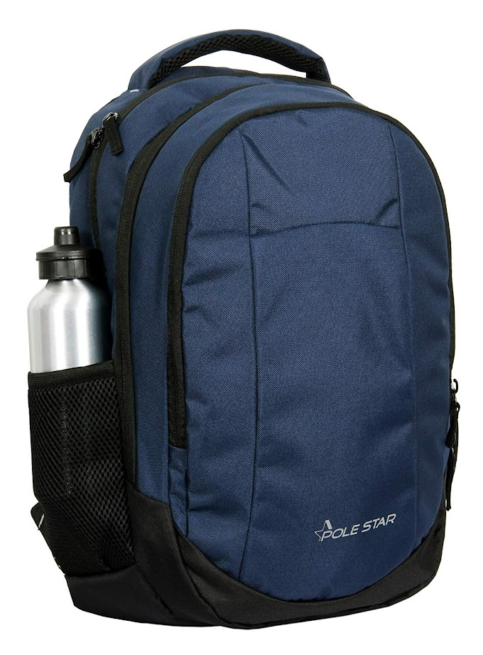 "Rs,529/- POLESTAR""Noble Blue 32 Ltrs Casual bagpack/School Bag/Laptop Backpack"