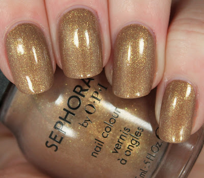 Antique Gold Nails for Fall