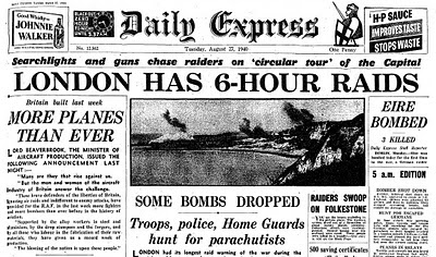 27 August 1940 worldwartwo.filminspector.com Daily Express