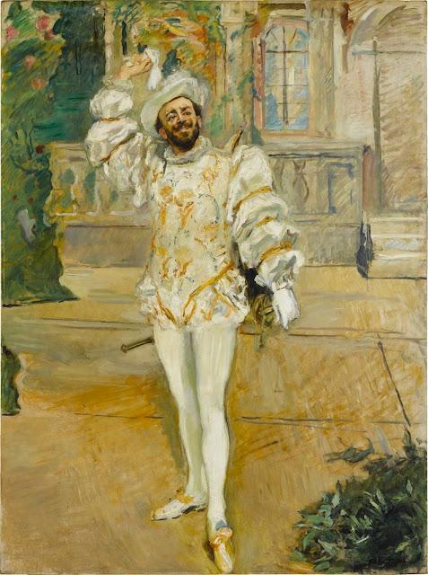 Max Slevogt - La canción del Champagne o el Blanco Andrade - 1902