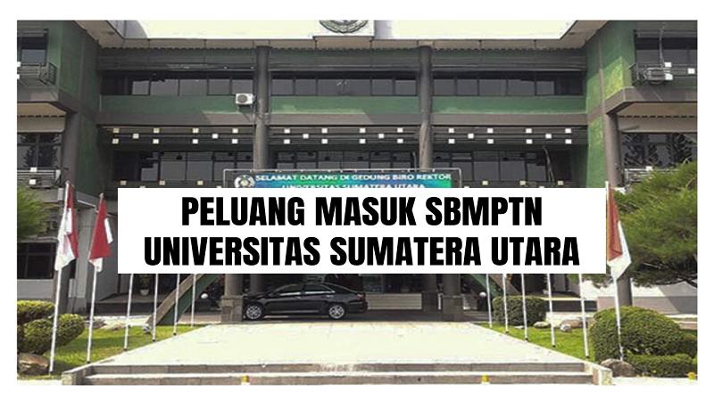 Peluang Masuk SBMPTN USU 2021/2022 (Universitas Sumatera Utara)