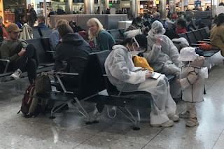 فحص تجريبي في مطار هيثرو Pilot check up at Heathrow