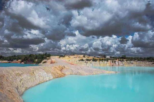 Kawah Biru Jadi Destinasi Wisata Pekanbaru
