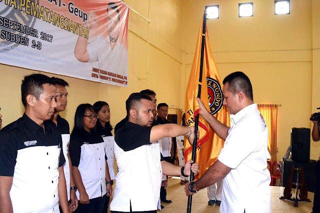 Denny Torang H Siahaan,SH Dilantik Jadi Ketua Pengcab Taekwondo Siantar,Siap Tingkatkan Atlet Berprestasi