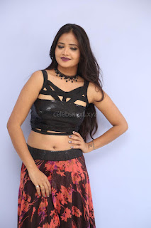 Shriya Vyas in a Tight Backless Sleeveless Crop top and Skirt 164.JPG