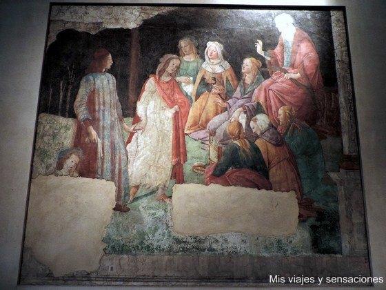 cuadros, Sandro Botticelli, Museo del Louvre, París