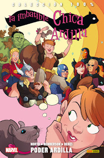 LA IMBATIBLE CHICA ARDILLA 1 PODER ARDILLA  Marvel comic de Ryan North y Erica Henderson COLECCION 100% MARVEL