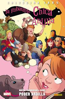 LA IMBATIBLE CHICA ARDILLA 1 PODER ARDILLA  Marvel comic de Ryan North y Erica Henderson COLECCION 100% MARVEL