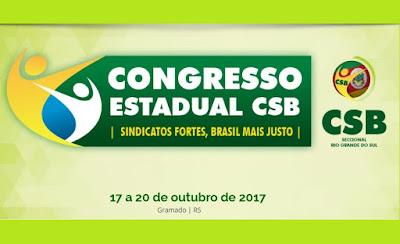 Ciro Gomes confirma participação no Congresso da CSB no Rio Grande do Sul; as inscrições já estão abertas