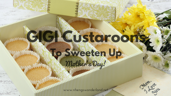 GIGI Custaroons To Sweeten Up Mother's Day!