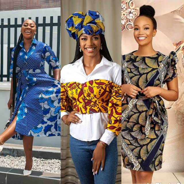 Beautiful African Dresses 2021:Classic African Styles Collection for Ladies