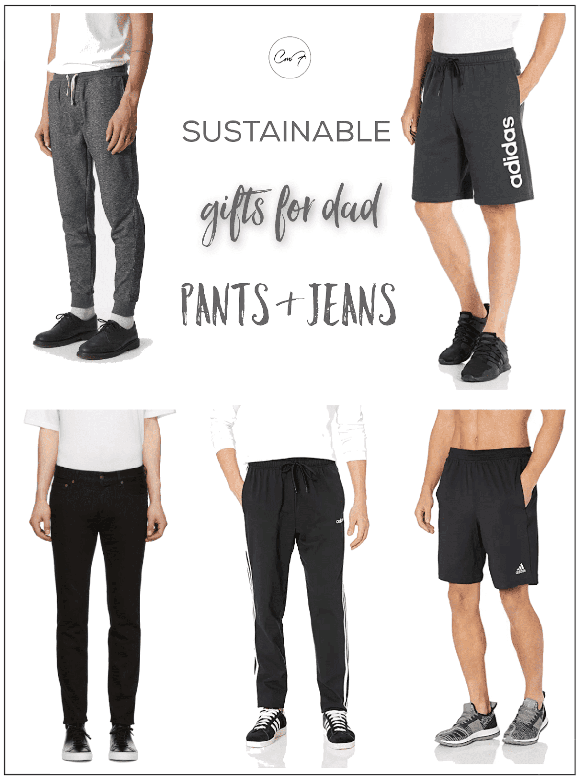 sustainable gifts for dad pants and jeans