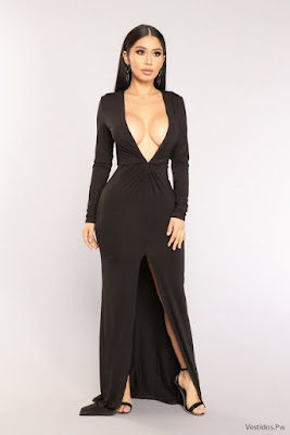Vestidos con Abertura en la Pierna