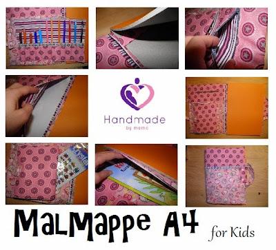 Anleitung Malmappe A4