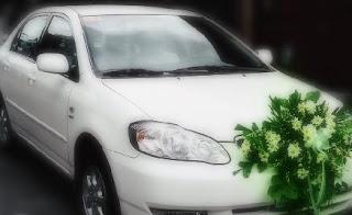 Bunga Mobil Pengantin,Dekorasi Mobil Pengantin