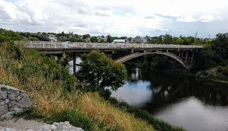 Белая Церковь. Река Рось и автомобильный мост