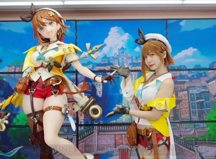 Iori Moe cosplaying as Protagonist Girl Atelier Ryza 2 | Maximum kawaii